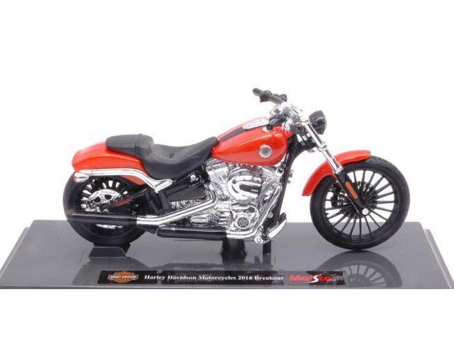 Maisto MI17083 HARLEY DAVIDSON MOTORCYCLES 2016 BREAKOUT 1:18 Modellino
