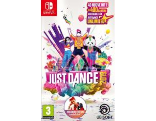 JUST DANCE 2019 SOCIAL GAMES - NINTENDO SWITCH