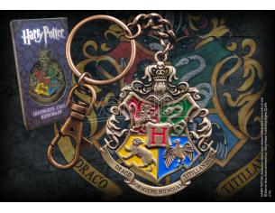 Harry Potter Portachiavi Con Stemma Hogwarts Noble Collection