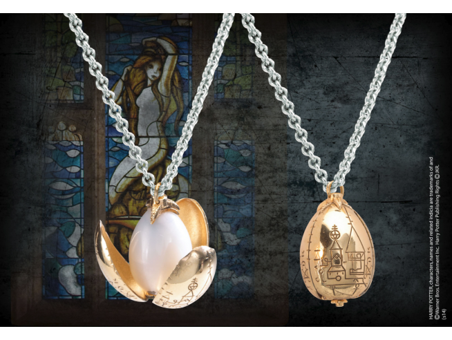 Harry Potter Collana E Ciondolo Uovo D'oro Noble Collection