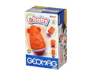 Quercetti 0096 - Geomag 096 - Baby Roly-Poly Bear SCATOLA ROVINATA