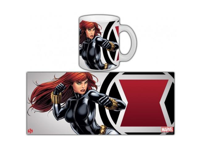 Semic Avengers Black Widow Tazza