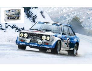 Italeri IT3662 FIAT 131 ABARTH N.10 WINNER MONTE CARLO 1980 W.ROHRL-C.GEISTDORFER 1:24 Modellino