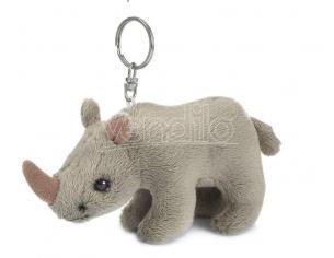 WWF205026 - Peluche Portachiavi Rinoceronte 10 cm