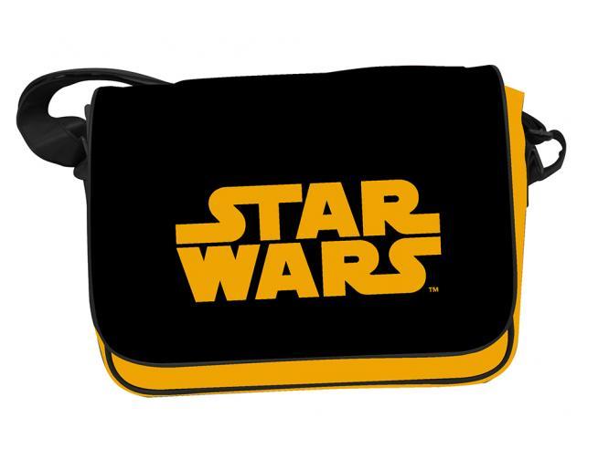 Sd Toys Star Wars Arancione Logo Borsa Porta Lettere Con Chiusura Borsa
