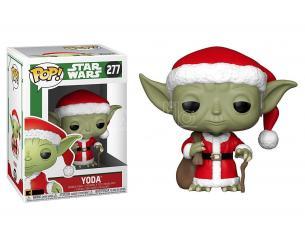 Star Wars Funko POP Film Vinile Figura Santa Yoda Vacanze di Natale 9 cm
