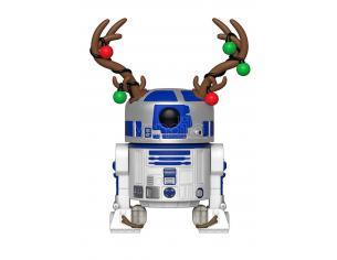 Funko Star Wars POP Movies Vinile R2-D2 Vacanze Natale 9 cm