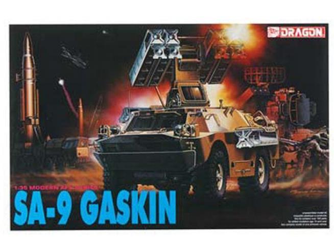 Dragon D3515 SA 9 GASKIN KIT 1:35 Modellino