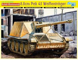 Dragon D6728 WAFFENTRAGER 8,8 cm PAK 43 KIT 1:35 Modellino