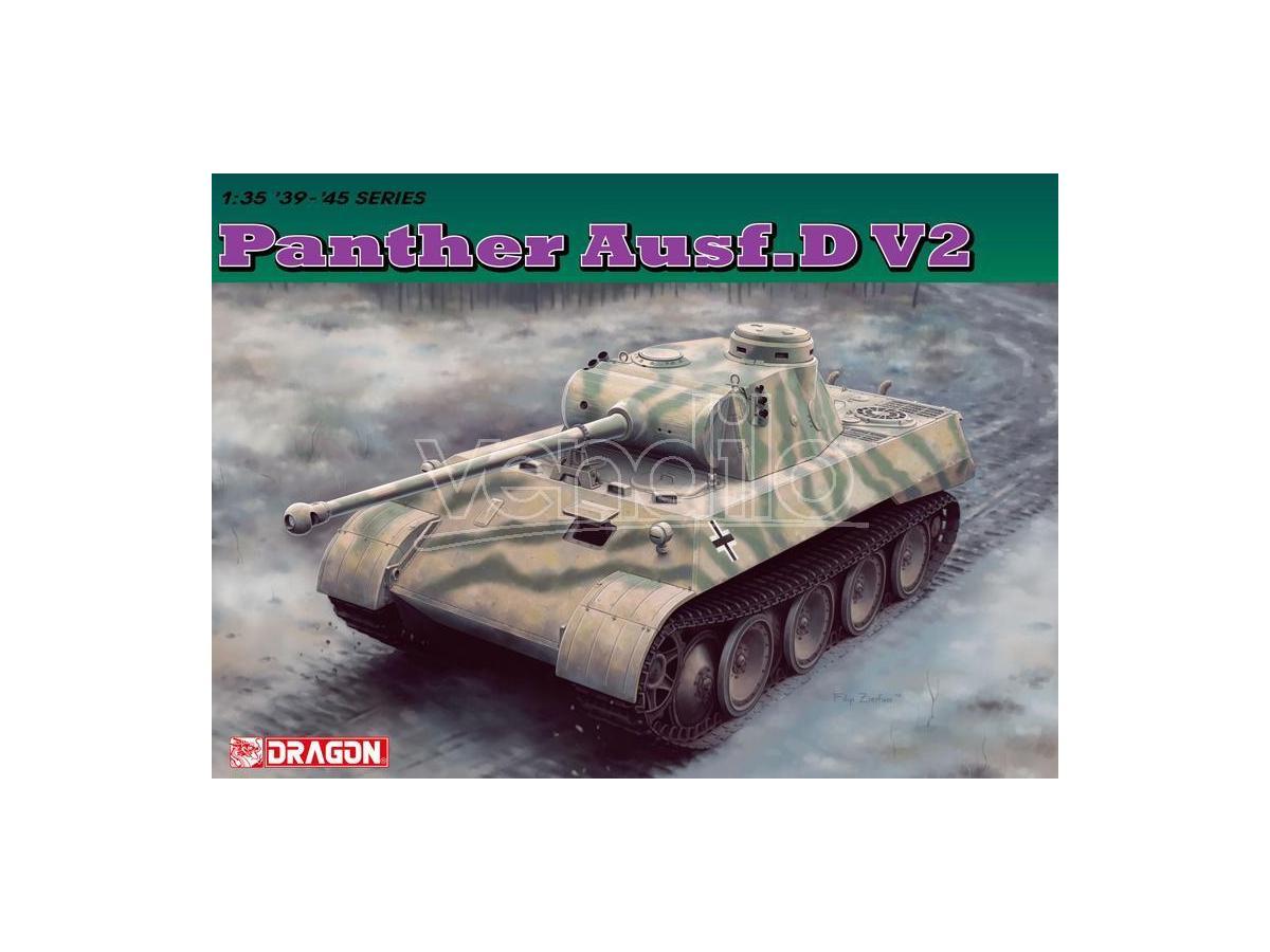 Dragon D6822 PANTHER AUSF.D V2 KIT 1:35 Modellino
