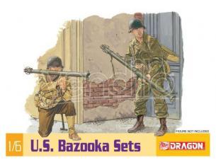 Dragon D75008 US BAZOOKA SET KIT 1:6 Modellino