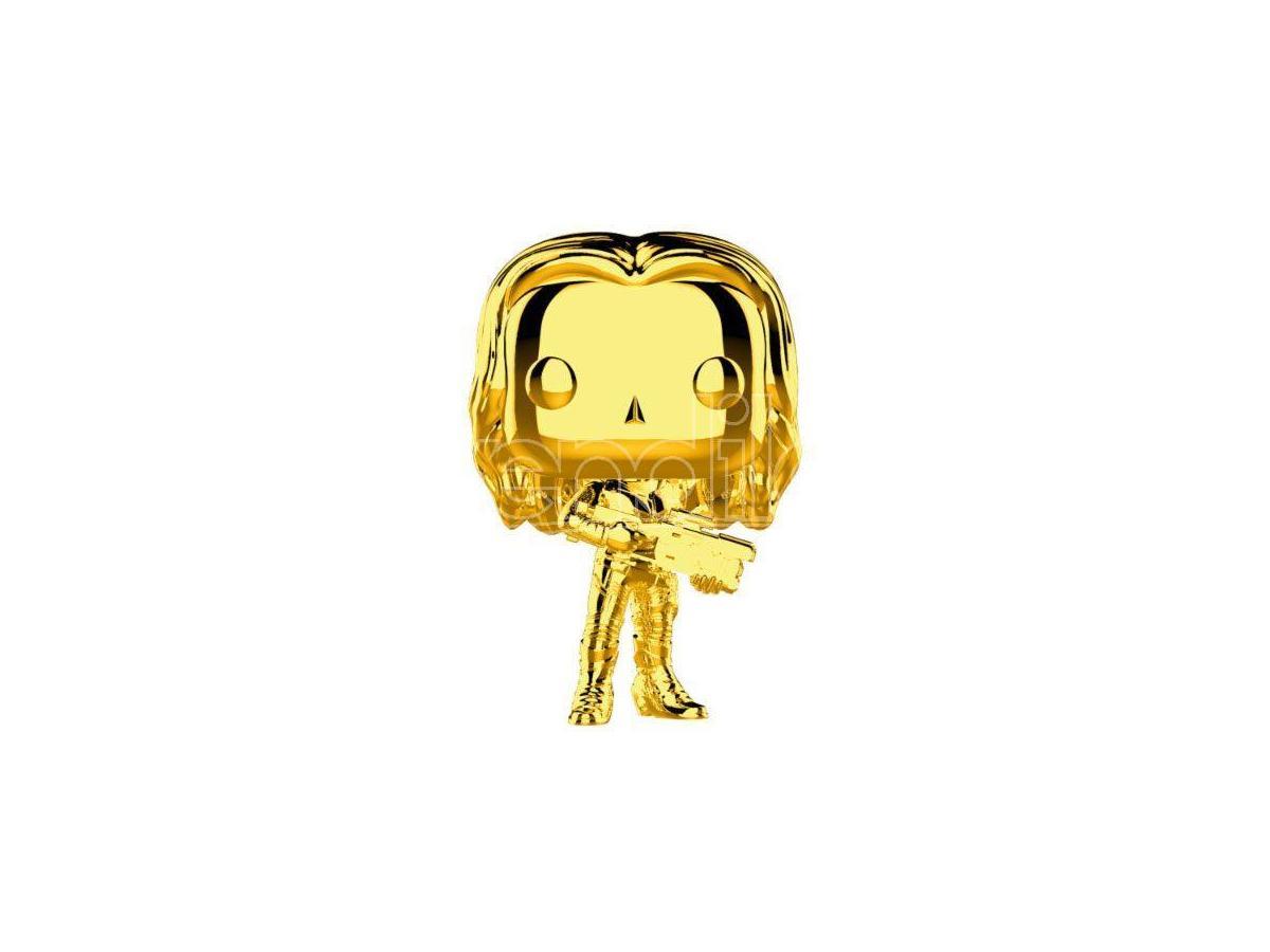 Studios 10 Funko POP Marvel Vinile Figura Gamora Cromata 9 cm