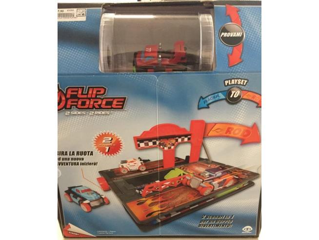 Flip Force 0541 Set 2 Piste 2 Veicoli Racer/Roll Mac Due