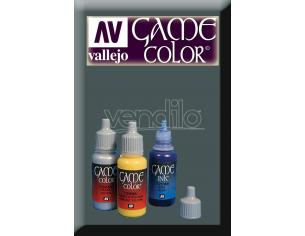 Vallejo Game Color Gunmetallo Metallo 72054 Colori VALLEJO