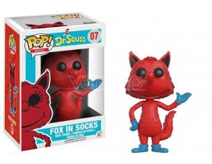 Dr. Seuss Funko POP Books Vinile Figura Fox in Calzini 9 cm scatola rovinata