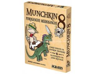 MUNCHKIN 8 - PUROSANGUE MEZZOSANGUE GIOCHI DA TAVOLO TAVOLO/SOCIETA'