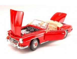 Maisto MI31824R MERCEDES 190 SL 1955 RED 1:18 Modellino