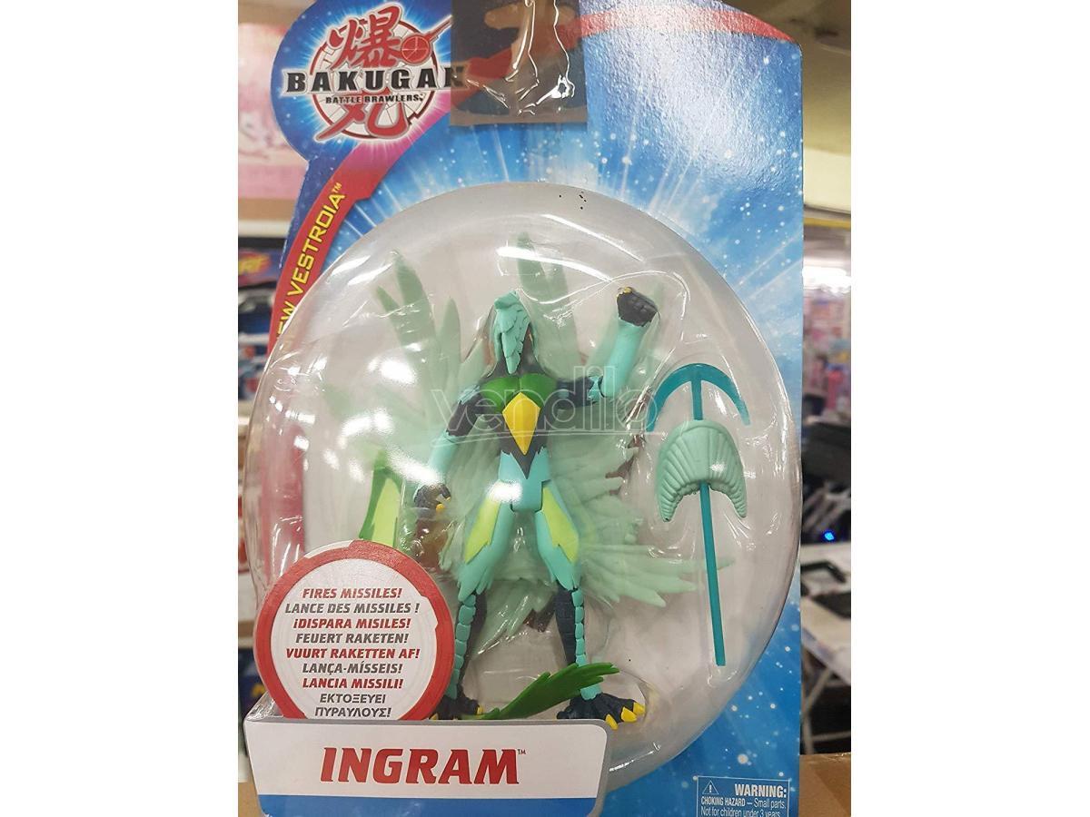 GIOCHI PREZIOSI - Bakugan Personaggi Deluxe Ingram 15cm