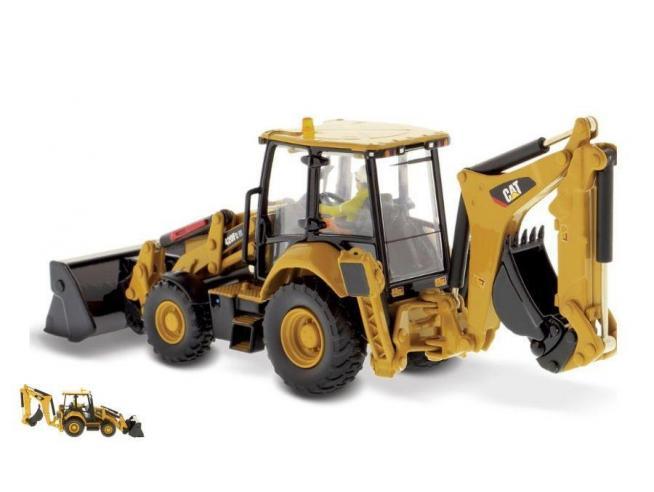 Diecast Master DM85233 CAT 420F2 IT BACKHOE LOADER PIVOT 1:50 Modellino