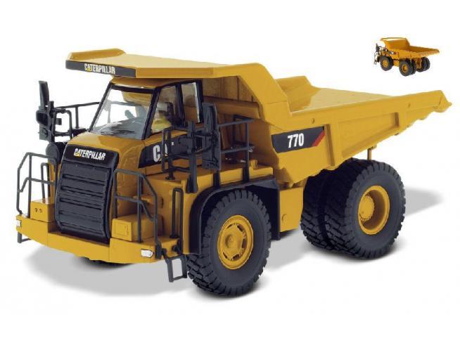Diecast Master DM85551C CAT 770 OFF HIGHWAY TRUCK 1:50 Modellino