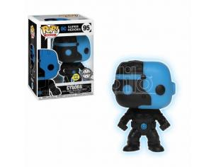 Justice League Funko POP Film Vinile Figura Cyborg Silhouette GITD Esclusiva