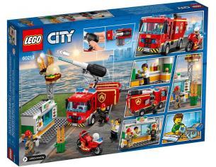 LEGO CITY FIRE 60214 - FIAMME AL BURGER BAR