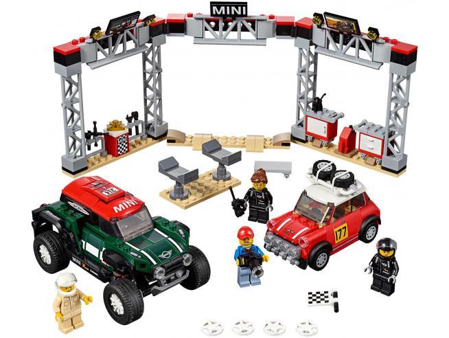 LEGO SPEED CHAMPIONS 75894 - 1967 MINI COOPER S RALLY