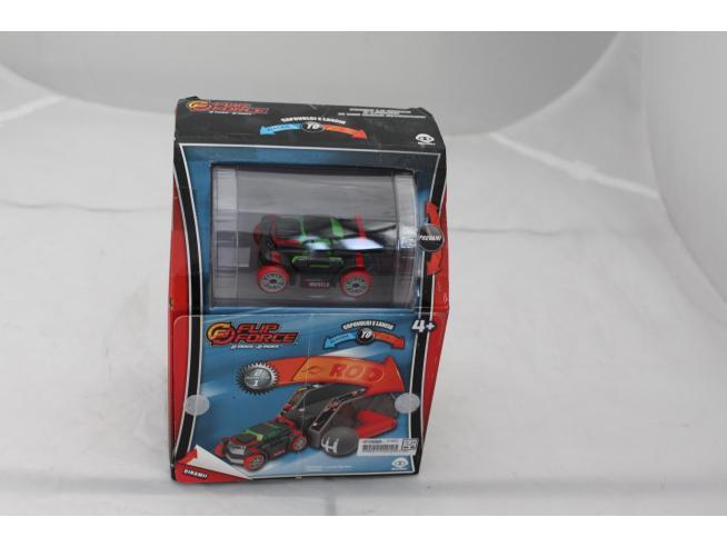 Flip Force 2 Playset in 1 - Gira la macchina e cambia colore (grigio e verde)