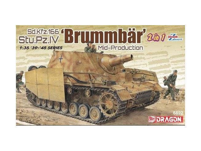 Dragon D6892 BRUMMBAR MID-PRODUCTION 2 in 1 KIT 1:35 Modellino