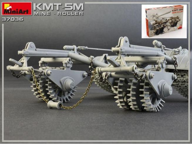 Miniart MIN37036 KMT-5M MINE ROLLER KIT 1:35 Modellino