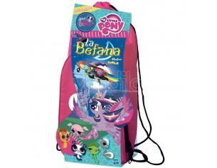 Hasbro - Zainetto La Befana Epifania My Little Pony Girls Rosa Natale