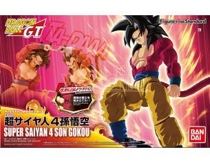 Bandai Model Kit Figura Rise Super Saiyan 4 Son Gokou Model Kit