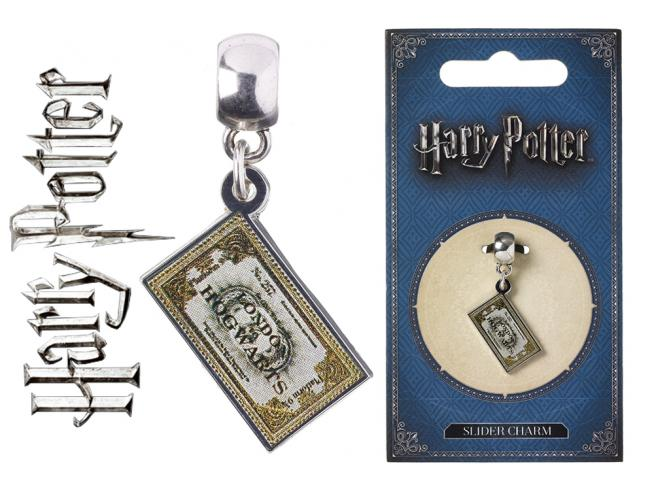 Harry Potter Carat Espresso Per Hogwarts Ticket Slider Ciondolo Ciondolo