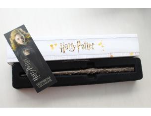 Harry Potter Bacchetta Magica Hermione Granger + Segnalibro 3d Noble Collection