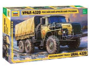 Zvezda Z3654 URAL 4320 TRUCK KIT 1:35 Modellino
