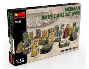 Miniart MIN35588 GERMAN JERRY CANS SET WWII KIT 1:35 Modellino
