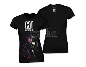 T-shirt Maglietta Dc Comics Catawoman nera taglia L SD Toys
