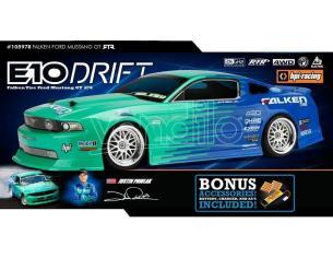 HPI Racing 105979 E10 Ford Mustang Falken Tire Drift 2011 RTR 1:10 Radiocomando