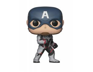 Avengers Endgame Funko Pop Movies Vinile Figura Capitan America 9 cm