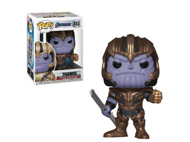 Avengers Endgame Funko POP Film Vinile Figura Thanos 9 cm