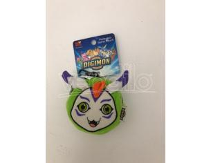 JEMINI - Portafoglio  Peluche Digimon Gomamon bianco e verde 9cm