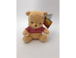 Peluche Winnie seduto 13 cm Disney Winnie The Pooh