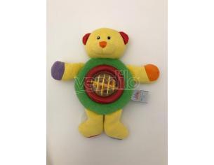 BABY GUND 5788 - Peluche Orsetto giallo con sonaglio 21cm