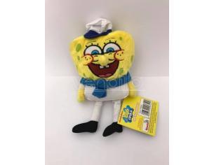 Nickelodeon - Spongebob vestito da Marinaio Peluche 16cm circa