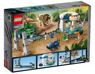 LEGO JURASSIC WORLD 75937 - L'ASSALTO DEL TRICERATOPO