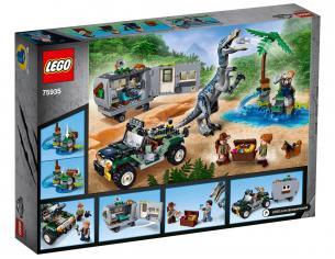 LEGO JURASSIC WORLD 75935- FACCIA A FACCIA CON IL BARYONYX: CACCIA AL TESORO