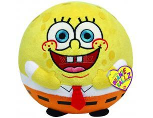 Ty Berretto Ballz T38009 - Peluche Palla Spongebob 12cm