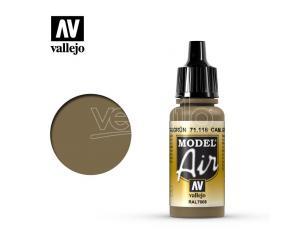 VALLEJO MODEL AIR CAM GRAY GREEN 71116 COLORI VALLEJO