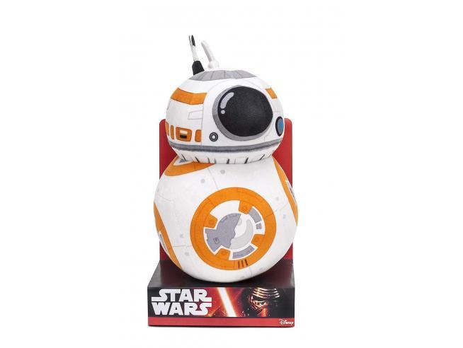 Joy Toy 1500084 - Pupazzo in Velboa del droide BB-8, Star Wars 22 cm