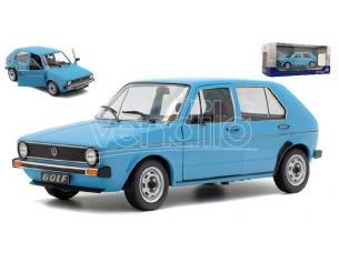 Solido SL1800208 VW GOLF L 1983 BLEU MIAMI 1:18 Modellino